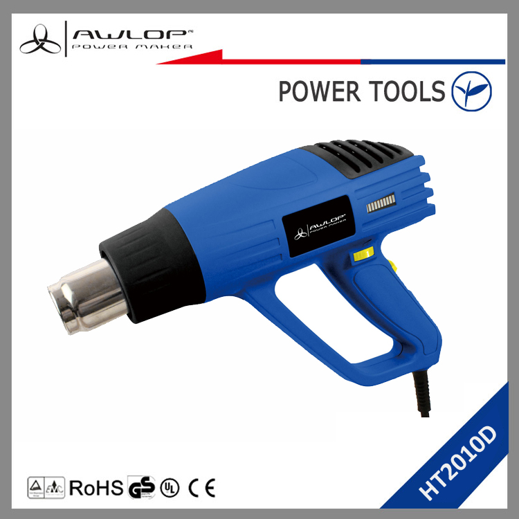 AWLOP 2000W air hot gun high temperature heat gun with 500l/m air flow