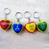 BT-1007 Fashion car logo keychain flashlight