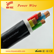 YJV22 0.6/1KV 3*70MM2 +1*35 xlpe power cables with steel strip armoured PVC outer sheath