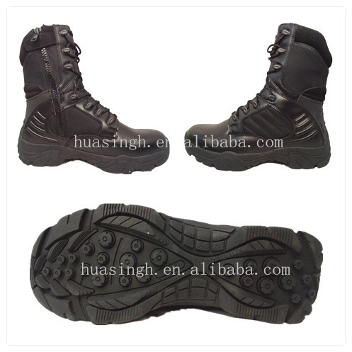 climbing rubber sole military issued Delta force waterproof combat boots