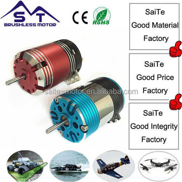 Factory 540 brushless motor price: ST 3650 17.5T sensored inrunner brushless motor for 1/10 scale rc car