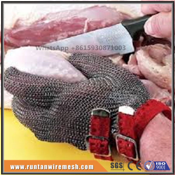 butchers stainless steel mesh Glove for meat cutting