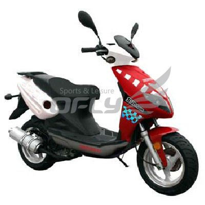 EEC/EPA DOT Approved Gas Motor Scooter Equipped with 50cc Engine WZMS0515EEC/EPA