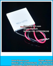 Wholesale-New TEC1-12710 DC12V 10A Thermoelectric Cooler Peltier 40*40*3.2MM TEC1 12710