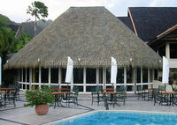 Synthetic Thatch Gazebo Palm Leaf Roofing