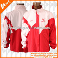 High Quality Fashionable 100% Polyester Men Custom Jackets