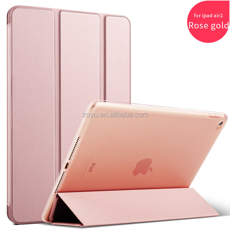 high quality for ipad air case, new arrival soft tpu back cover for ipad air