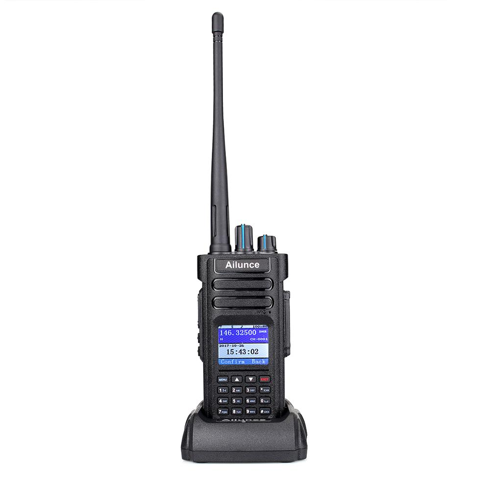 Retevis RT82 DMR Walkie Talkie 3000CH Dual Band Digital Two-Way Radio/&USB Cable