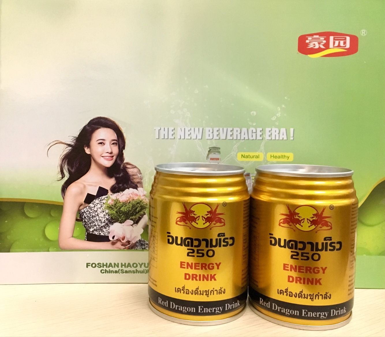 330ml Canned packaging instant product type energy drink