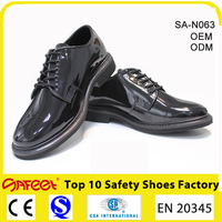 Cheap Security Guard Leather Shoes for Men, Office Leather Shoes SA-N063