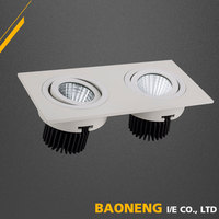 Aluminum Alloy Molding COB 2 * 5W LED Suspended Ceiling Lighting
