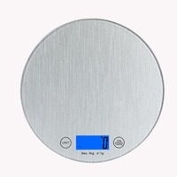 11lb 5kg Digital Multifunction Stainless Steel