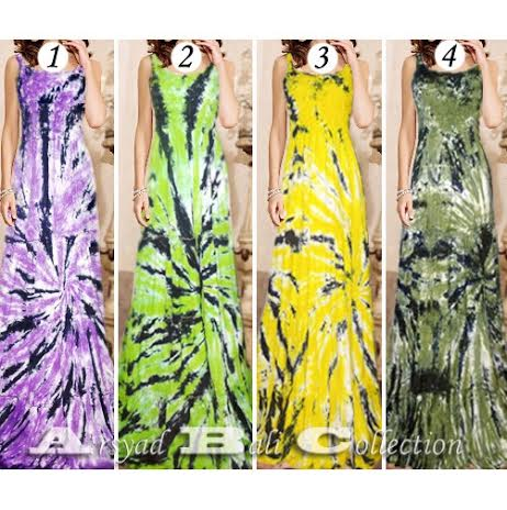 Adult batik long dress