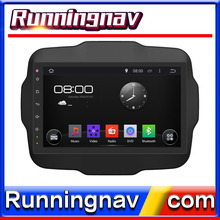 Best seller Android OS dvd car with double DIN entertainment system for Jeep Renegade support bt