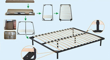 Hot Sale Cheap Strengthen King Size Wooden Bed Frame
