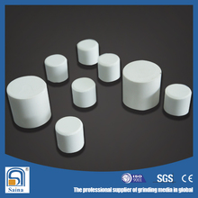 Industrial Raw Materials Ceramic Parts Alumina Grinding cylinder for cement industry