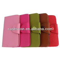 New Arrival Wallet Leather Case for iPhone4/5/5s ,Book Style Case for iPhone5 Cover ,for IPhone5 Covers