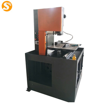 China Made Easy Operation Vertical Steel Cutting Band Saw For Sale