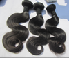 Wholesale 7a grade peruvian virgin hair weft,unprocessed raw virgin peruvian hair 20 Inch Virgin Hair