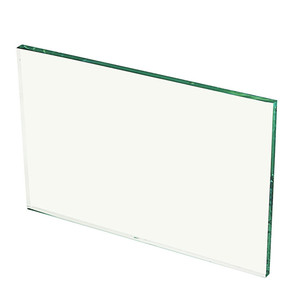 4mm 5mm 6mm 8mm Clear / Ultra Clear Tempered Glass For Wall Display Cabinet