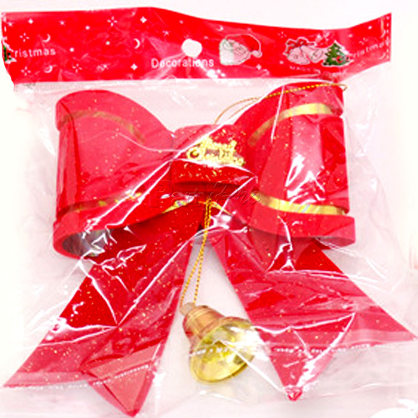 Wholesale Hot Sale Outdoor Red Outdoor Christmas Bow Big