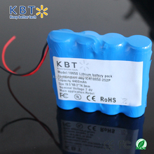 18650-2P2S-4400mAh high temperature cylindrical lithium battery