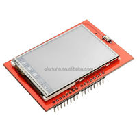 2.4 Inch TFT Touch Screen Module for UNO R3 Red