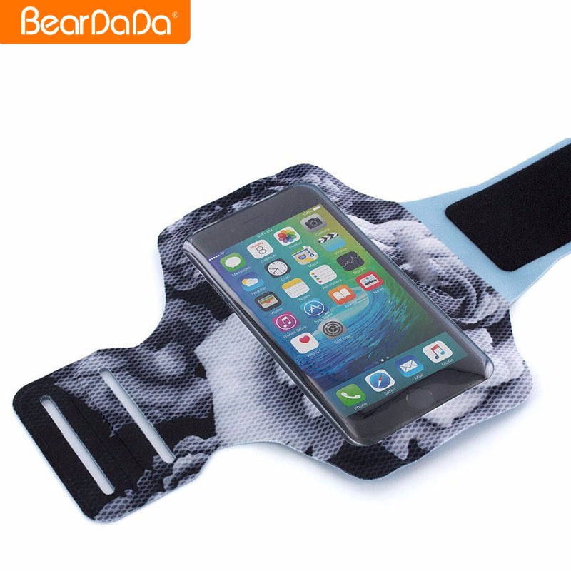 Wholesale outdoor fitness sports cell phone armband holder