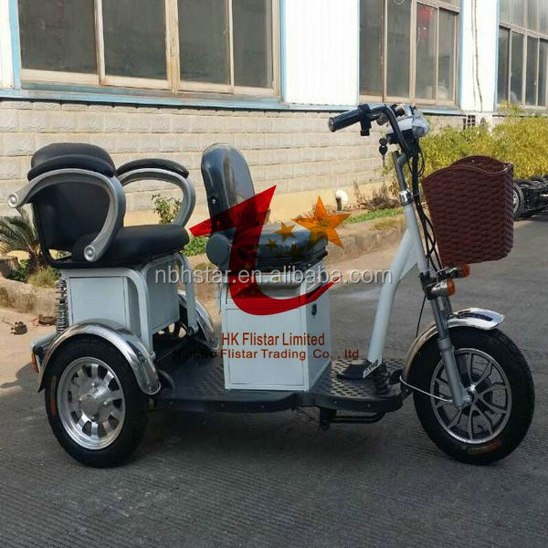 G2 800w large size electric tricycle for disabled/electric trike/trycicle
