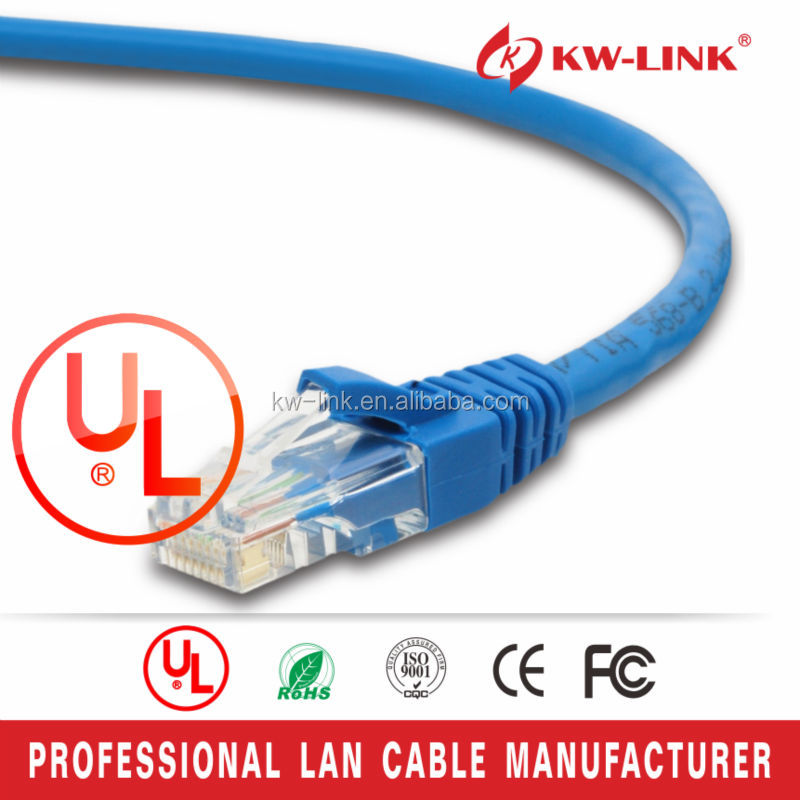 patch cable cat5 fly lead/26awg utp cat5e cable 4 pair cat 6 30cm patch cord cable
