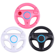 3 Color Plastic Innovative and ergonomlc design Game Racing Steering Wheel for Nintendo Wii Mario Kart Remote Controller