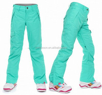 light color Custom Snow Pants ski trousers