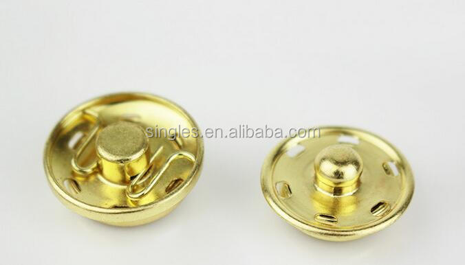 High quality Contact button button button Metal snap snaps baby clothes Wholesale sewing accessories