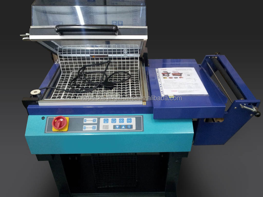 Shrink Packaging Machine Attached with Electric Motor driven by AC Motor