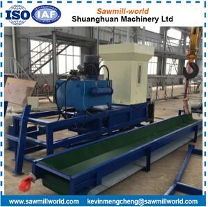 wood shavings machine