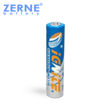 High-energy pvc jacket size aaa r03 um-4 1.5v dry cell battery