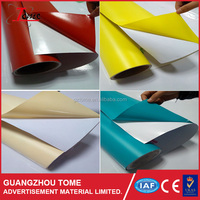 High glossy color vinyl colored PVC self adhesive vinyl film