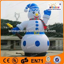 new christmas decoration inflatable pvc sno