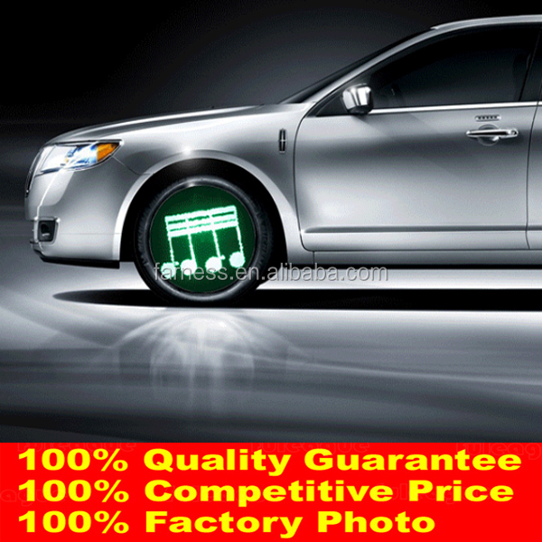 Factory Most Hot Programmable Car Wheel Light Car Led Reading Light