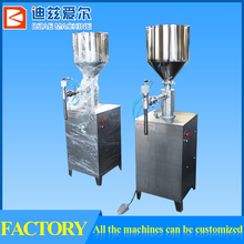 semi automatic pneumatic cream/liquid filling machine, bottle filling/ packing machine