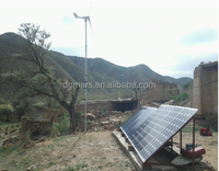 Trustworthy supplier 1000W wind solar hybrid power system for power supply 1000w residential wind turbine 1kw