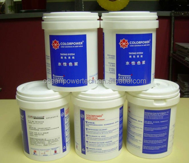 Oceanpower CM color paste professionally for water based emulsion paint