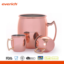 Single Walled Stainless Steel Drink Cup Copper Tumber