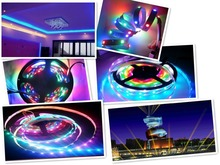 Club party 5V 5050 RGB 30/60/144 leds/m WS2812 led strip