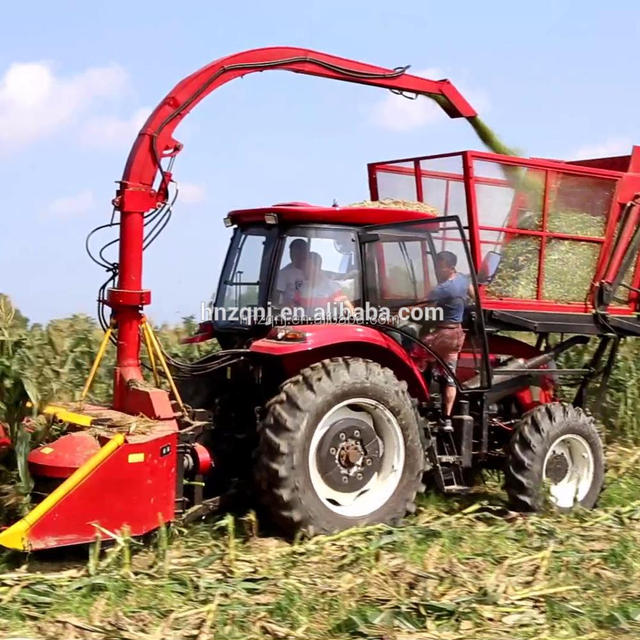 Hot selling Agricultural Corn Silage Machine Forage Harvester Header For Self-prolled Tractor on sale