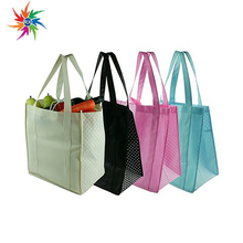 Customized non woven colorful tote shopping bag/promotion non woven bag with logo printing