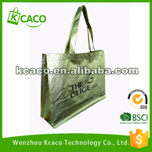 BSCI Promotional Cheap Handled Style and Non-woven Material shopping tote bag