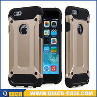 Slim Armor case for Apple iPhone 4 / 5 / 6 Hybrid Armor Rugged Rubber Shockproof Hard Case Cover