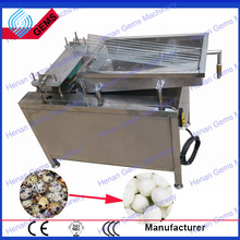 top selling manufacturer supply hard boiled egg peeling machine