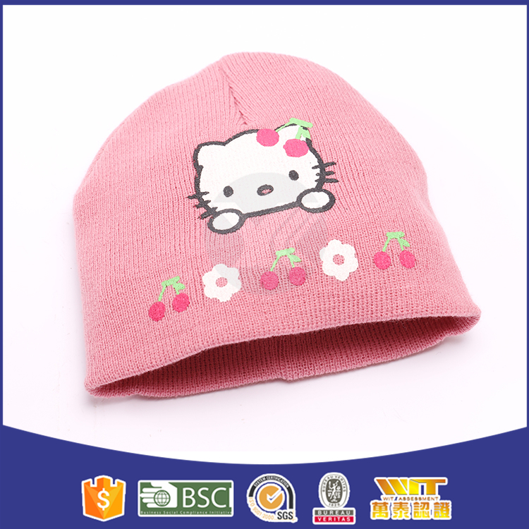 special style beanie knitting for baby
